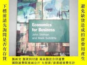 二手書博民逛書店Economics罕見for Business有水跡 筆跡Y19