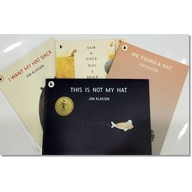 【凱迪克得獎大師者書】JON KLASSEN PICTURE BOOK COLLECTION /內含4冊精選繪本套