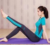 【優選】瑜伽運動套裝女專業初學者健身房服3色