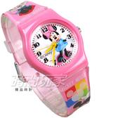 Disney 迪士尼 時尚卡通手錶 米奇 米妮 兒童手錶 數字 女錶 粉紅色 D米妮小P1