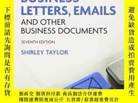 二手書博民逛書店Model罕見Business Letters, Emails And Other Business Docume