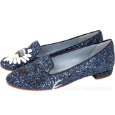 Chiara Ferragni Wonderland 雛菊亮片眨眼樂褔鞋(深藍色) 1720388-34