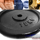單片15公斤槓片.15KG傳統鑄鐵槓片.槓鈴片.啞鈴片.舉重量訓練.健身用品推薦哪裡買專賣店特賣會