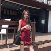 夏季性感夜店女裝韓版洋裝女夏顯瘦chic港味背心裙子氣質短裙潮