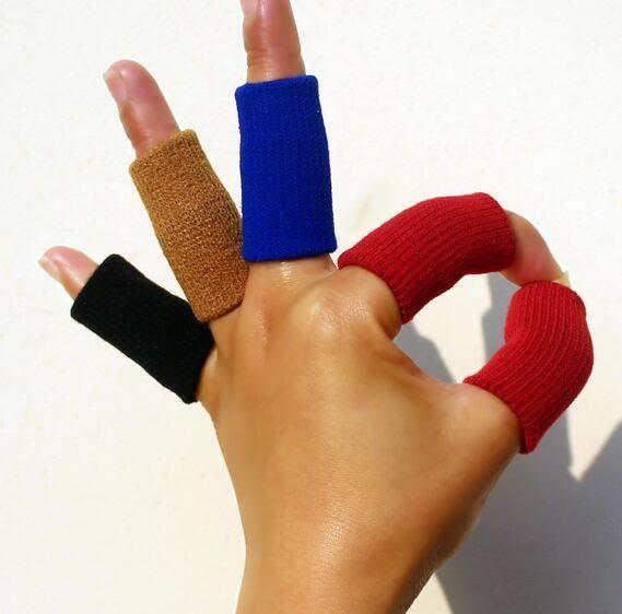 籃球護指套 男女運動彈性護指加長保暖護手指秋冬籃球排球勞保護指套【端午快速出貨限時8折