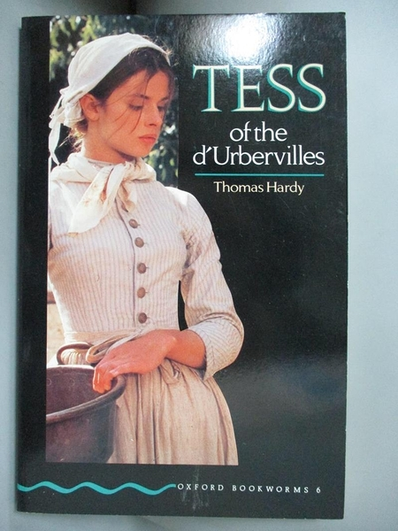 【書寶二手書T1/原文小說_KHW】TESS OF THE D URBERVILLES_THOMAS HARDY