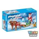 playmobil摩比人 聖誕老人的雪橇...
