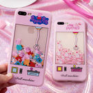 iPhoneX手機殼 可掛繩 粉紅超逼真...