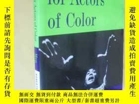 二手書博民逛書店英文原版罕見Monologues for Actors of Color: Men by Roberta Uno奇