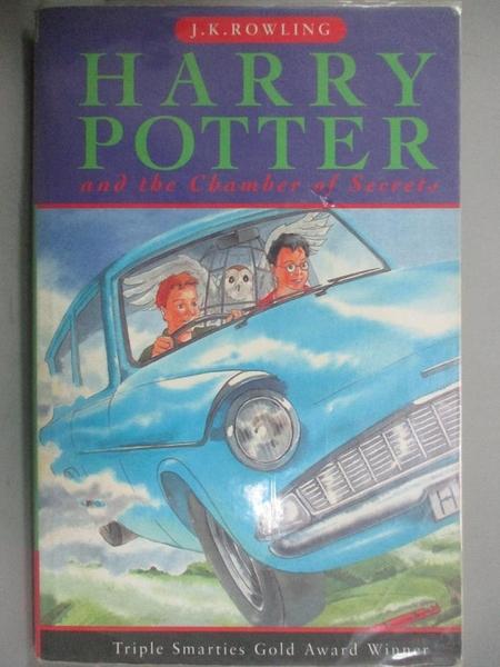 【書寶二手書T4/原文小說_KEI】Harry Potter and the Chamber Of Secrets_J.