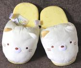 【卡漫城】 貓咪 絨毛 拖鞋 27cm ㊣版 角落生物 小夥伴 Sumikko 保暖 舒適 室內拖鞋 室內鞋 毛拖