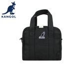 【橘子包包館】KANGOL 英國袋鼠 側背包 斜背包 手提包 61251715 黑色 米色 藍色