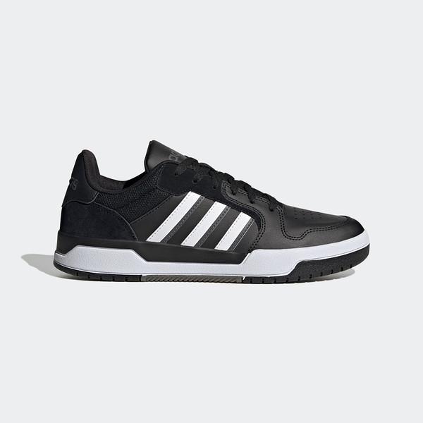 Adidas Entrap [FW3464] 男鞋 運動 休閒 慢跑 舒適 穿搭 情侶 舒適 訓練 時尚 愛迪達 黑 白