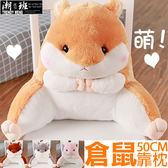 『潮段班』【VR000134】50CM日韓超可愛超萌倉鼠娃娃抱枕午安抱枕 枕頭 靠枕 靠墊 絨毛玩偶