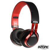 [富廉網] 【INTOPIC】藍牙摺疊耳機麥克風 JAZZ-BT960 時尚黑/耶誕白
