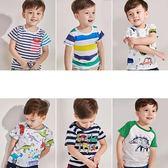 男童純棉T恤夏裝新品全館免運女童上衣夏季兒童半袖童裝3歲寶寶短袖夏