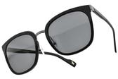 CARIN 太陽眼鏡 MORE C2 (黑槍-灰鏡片 )  質感黑邊款 墨鏡 # 金橘眼鏡