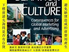 二手書博民逛書店Consumer罕見Behavior And Culture: Consequences For Global M