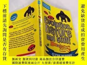 二手書博民逛書店Evolution罕見nature and stuff 自然進化論Y212829