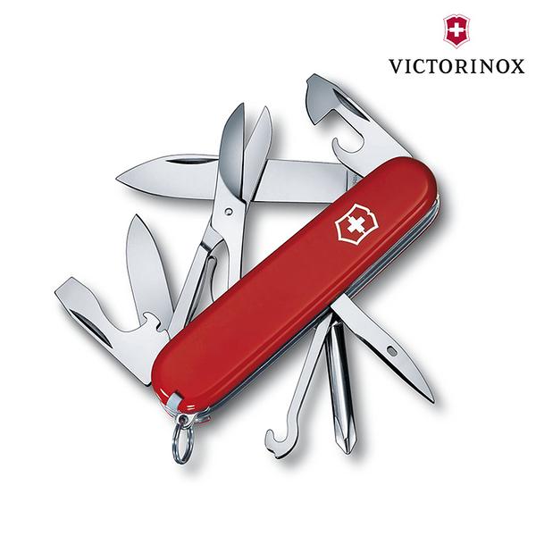 【VICTORINOX】Super Tinker瑞士刀1.4703 / 城市綠洲 (瑞士維氏、多功能、簡易工具、登山露營、居家旅遊)