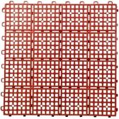 TM拼裝防滑地墊紅色6片裝