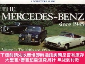 二手書博民逛書店The罕見Mercedes-benz Since 1945Y255174 Taylor, James Moto