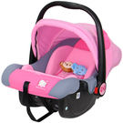 【奇買親子購物網】Hello Kitty 凱蒂貓 嬰兒提籃式汽座/豪華款