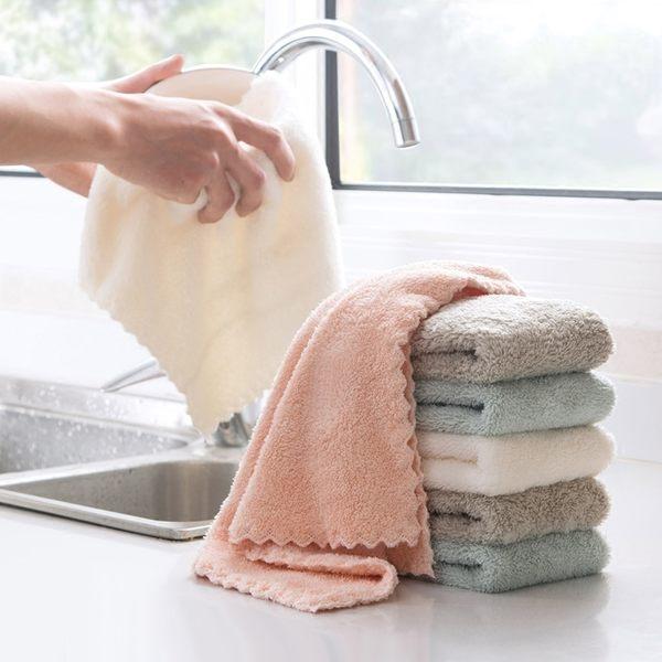 吸水力超強 珊瑚絨 吸水抹布 廚房毛巾 洗碗布 擦地板抹布 擦桌布 洗車布【RS831】