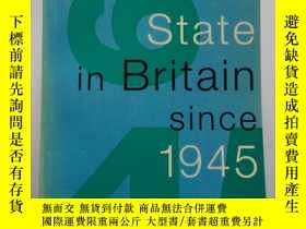 二手書博民逛書店The罕見Welfare State in Britain si