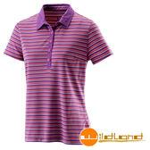 【山水網路商城】Wildland 荒野 女 涼感紗抗UV條紋上衣 抗紫外線/彈性纖維/吸濕排汗 0A21601-53紫色