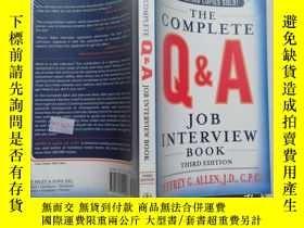 二手書博民逛書店【實物拍圖】the罕見complete Q & A Job In