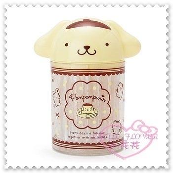 ♥小花花日本精品♥Hello Kitty 布丁狗棉花棒罐收納罐大臉造型60支入日本限定(預購)