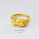 3D印金 獨特貔貅戒指  招財戒指-維多利亞171225