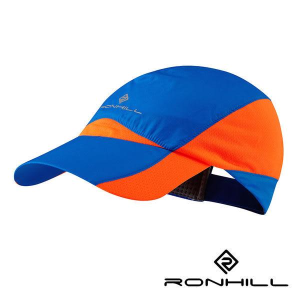 Ronhill WL輕風超涼快乾排汗帽 閃電藍/螢光橘 RH-001031