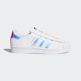 Adidas Originals Superstar J [AQ6278] 大童鞋 運動 休閒 白 珍珠 反光 愛迪達