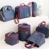 都來繡保溫手提袋防水便當零食包圓形帶飯包       SQ8316『寶貝兒童裝』
