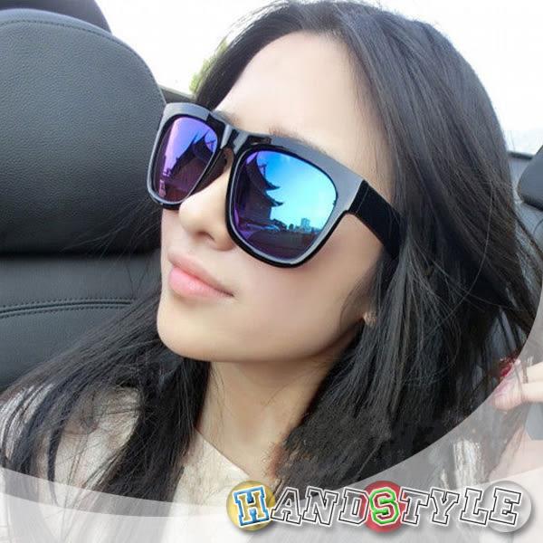 經典方框時尚炫彩造型眼鏡【025951】韓飾代【HandStyle】(附眼鏡盒)