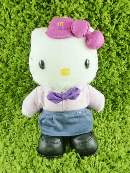 【震撼精品百貨】Hello Kitty 凱蒂貓~KITTY絨毛娃娃-麥當勞圖案