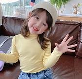 女童装 小布丁童裝2020秋裝新款女童洋氣純棉打底衫兒童長袖T恤寶寶上衣【快速出貨八折鉅惠】