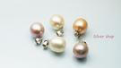 ╭☆ Silver shop ☆╯淡水珍珠 銀飾材質 單墜 [ pp 004 ]