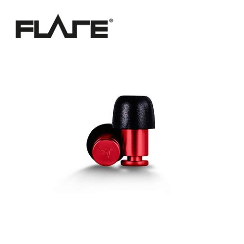 【敦煌樂器】Flare Isolate 系列鋁製專業級英國防躁耳塞 寶石紅色款