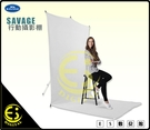 ES數位 Savage 1.52m x 3.66m 背景布 行動背景布 無縫背景布 耐皺聚酯背景布 5x12英尺
