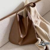 女士手提包時尚休閒托特包側背包包【邻家小鎮】