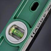 高精度水平尺鑄鋁實心專業水平尺家用裝修工程專用水平垂直加強磁igo 可可鞋櫃