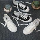 小白鞋百搭帆布鞋女 平底休閒運動小白鞋女鞋布鞋【巴黎世家】
