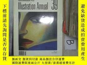 二手書博民逛書店ILLUSTRATION罕見ANNUAL Communication Arts 39 插畫年度傳播藝術39 B1奇