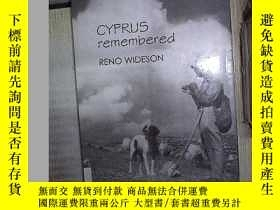 二手書博民逛書店CYPRUS罕見REMEMBERED RENO WIDESON