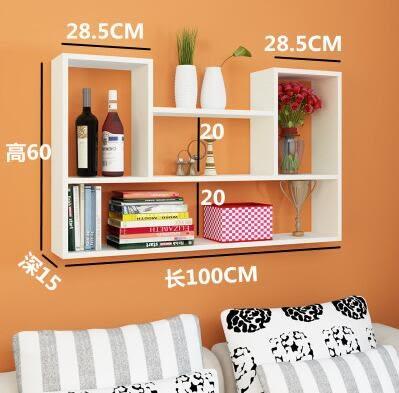 (主圖款)創意牆上置物架壁掛牆架壁櫃牆壁掛牆面臥室隔板