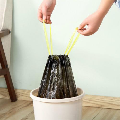 ♚MY COLOR♚收口式垃圾袋18入 居家 家事 自動 手提式 家用 抽繩 廚房 塑膠袋【N317】