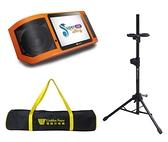 金嗓 Super Song 600 行動式多媒體伴唱機 (含腳架、背包)